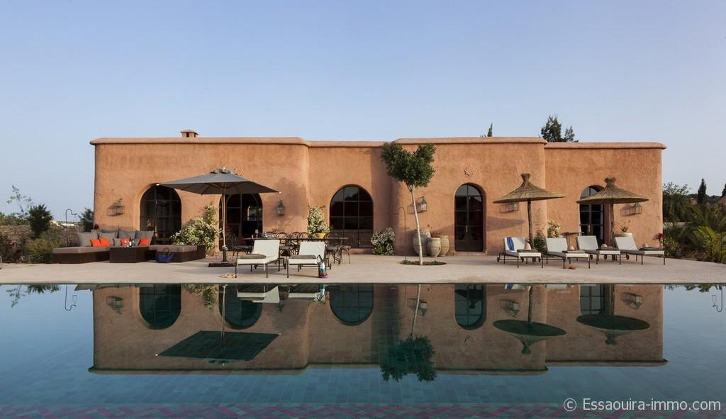Villa Dans La Campagnes Du0027Essaouira Maroc, Avec Piscine Privée